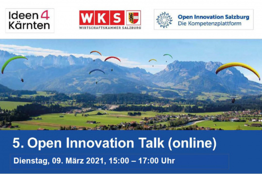 5. Open Innovation Talk